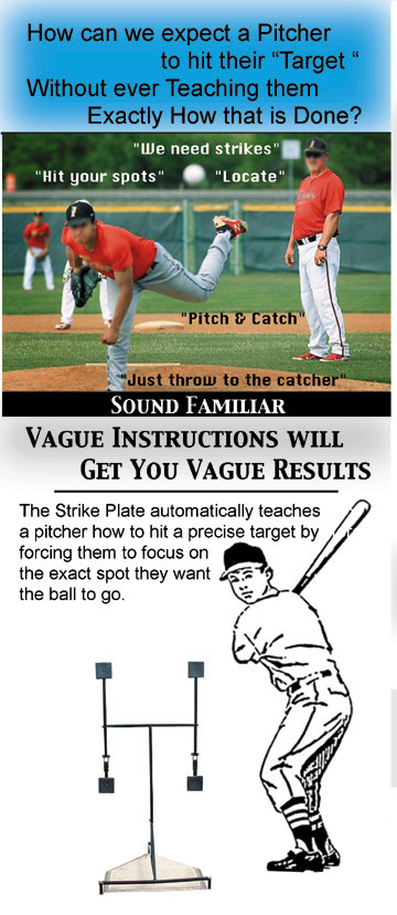 Practice Perfect Pitching With The Strike Plate Pitching