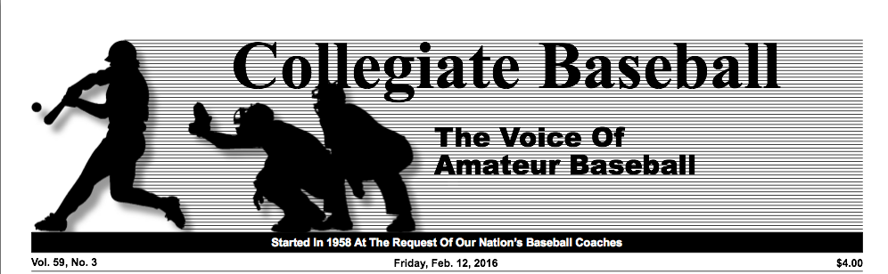 Collegiat Baseball News 2/12/16