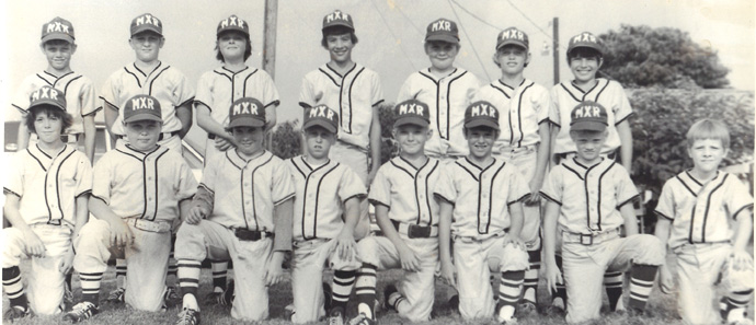 My 10 year old team - 1974